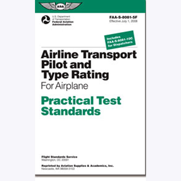 Practical Test Standards: Airline Transport Pilot & Type Rating