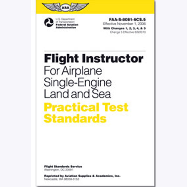 Practical Test Standards: CFI - Single-Engine